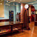 Sala expositiva en la Casa del Tiempo en Infiesto. Piloña