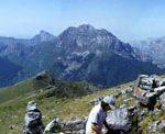 Panorámica desde la cumbre del Jario, Sajambre, Picos de Europa, León.