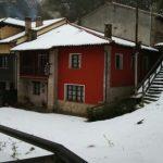 Exterior casa nevado