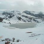lago ercina nevado