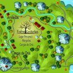 Como llegar, plano de Asturias